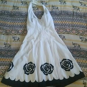 Aryeh // Marilyn Monroe style halter dress